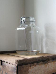 Grande italiano Canning Jar di NaturalVintage su Etsy