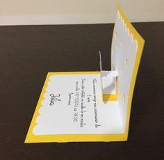Lindo convite da branca de neve com efeito especial quando aberto.  Feito com papel 180g.    Seus convidados vão ficar maravilhados com esse convite.    Beijos  Mamãe Criativa.