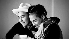 G-Dragon & Taeyang gif credit: g-wh0re on rebloggy