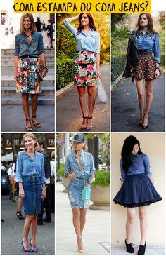 Camisa Jeans, como usar? - Rita Prado - CidadeVerde.com