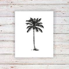 Twijfel je of je een echte tatoeage wil laten zetten? Laat zien hoeveel je van reizen houdt met deze tijdelijke tattoo van een palmboom! - - - travel tattoo / reiscadeau / travel gift / reiscadeaus / travel gifts