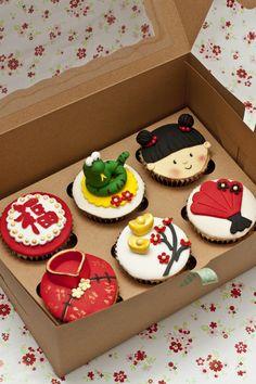 cny cupcake