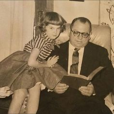 Me and Dad '56; notice crinoline skirt