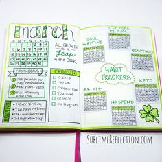 How I track habits in my bullet journal.
