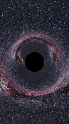 Black Hole Artist Impression iPhone 5 Wallpaper  #cuteiphonewallpaperstumblr #iphonewallpaper...