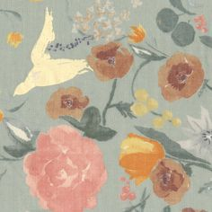 Nani Iro Kokka Japanese Fuccra tissu : rakuen St par MissMatatabi