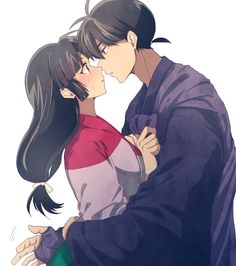 Miroku and sango. BY 成田きいろ
