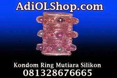 Kondom Ring Mutiara Silikon