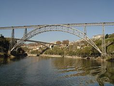 Ponte Maria Pia - Porto designed by Gustave Eiffel