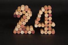 Wine Cork Numbers