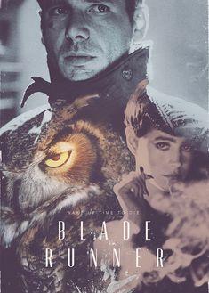 amazing fan-made Blade Runner poster