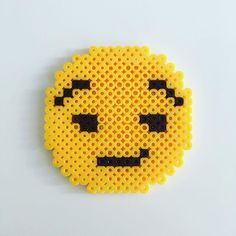 Emoticon hama beads by  vasilissatasarim                                                                                                                                                                                 More