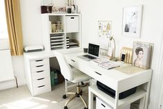 Office+Reveal+//+Beauty+and+the+Chic