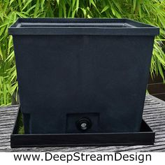 DeepStream's Rugged waterproof 100% recycled food safe LLDPE plastic liners with advanced drainage extend the life of your planters and promote healthy plants.    Drip tray catches drain overflow for evaporation preventing watermarks on patios and interior floors. Planter Liners, Plastic Planter, Drip Tray, Safe Food, Floors, Planters, Commercial, Healthy, Interior