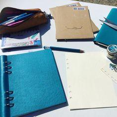 #Clipbook reçu la préparation de mon #Bulletjournal peut commencer! #filofax…