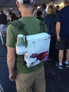 not all heroes wear capes. some wear boxed #wine backpacks