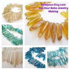 #spikes #boho #tribal #crystal #beads #jewelry https://www.etsy.com/listing/232232593/mystic-sunshine-fire-yellow-spike?ref=shop_home_active_9