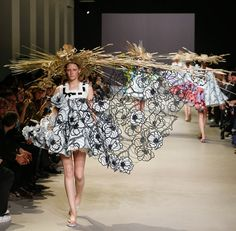 Baby Doll Dress: Source: Dezeen.comDuring the recent Paris Fashion Week, Dutch fashion house, Viktor and Rolf, presented an avante-garde collection of dresses with floral patterns and appliquéd petals inspired by the works of Dutch impressionist, Vincent Van Gogh -