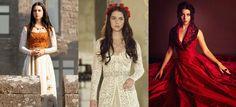 Uma vez um sonho: Vestidos da série Reign