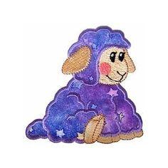 ch100 - Lamb Applique Embroidery Design