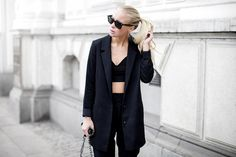 Black Suiting
