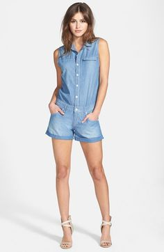 This Chambray romper though!