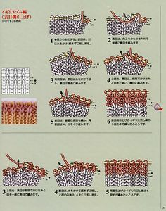 Fluffbuff: Japanese knitting symbols