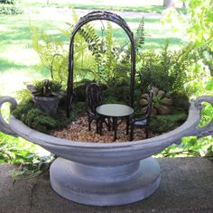 Fencing or Edging for Miniature Garden Terrarium or by GardenBarn