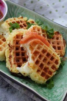 Waffles, Pancakes, Halloumi, Lchf, Taste Buds, I Love Food, Starters, Wine Recipes, Tapas
