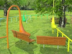 Madison Square Garden (until Sept 9):  Head to the grown-up playground — er, art installation by Charles Long — and pet, poke, and prod the brightly hued, questionably shaped figures and railings to elicit distinctly animalistic sounds.