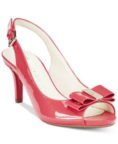 Anne Klein Stephania Slingback Pumps - Sale & Clearance - Shoes - Macy's