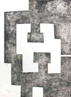 Aguafuerte - Eduardo Chillida - Le Plus beau Cadeau