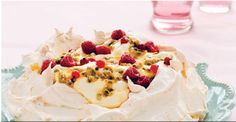 A good pavlova should be soft and chewy on the inside with a crisp outer shell. Best served on the day it's made but can be stored in an airtight container until needed, then topped with filling and fruit. Fruit Recipes, Baking Recipes, Dessert Recipes, Fruit Dessert, Pudding Desserts, Recipe Search, Summer Fruit, Delicious Desserts, Sweet Tooth