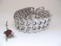 Bracelet recyclé en anneau d ouverture de canette