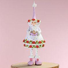 Patience Brewster Mini Woodland Santa Ornament