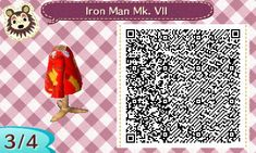 Open Chest - Animal Crossing New Leaf QR Codes creepy Animal Crossing 3ds, Animal Crossing Qr Codes Clothes, Motif Bikini, Iron Man Poster, Creepy Animals, Dream Code, Leaf Man, Motif Acnl, Ac New Leaf