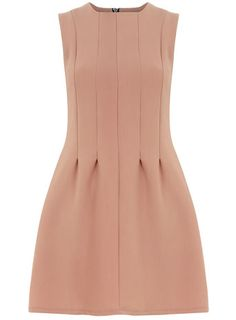 seam waist shift dress
