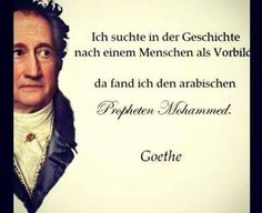 Gedicht goethe islam