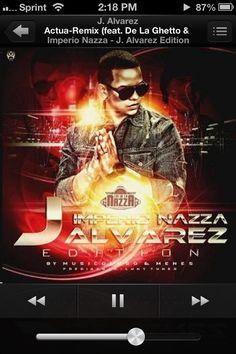 """Actua Remix"" - J. Alvarez feat. De La Ghetto & Zion de Imperio Nazza - J.Alvarez Edition"