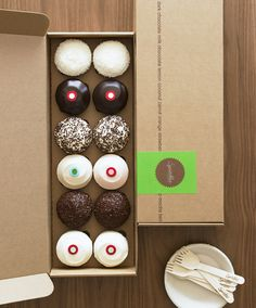 I'm having #cupcakes for lunch #packaging PD