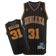 Reggie Miller jersey-Buy 100% official Mitchell and Ness Reggie Miller Men's Authentic Navy Blue Jersey Throwback NBA Indiana Pacers #31 Free Shipping.