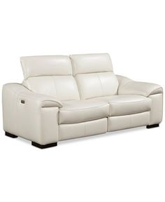 Kelsee Leather 2-Pc. Sofa with 2 Power Recliners, Only at Macy's