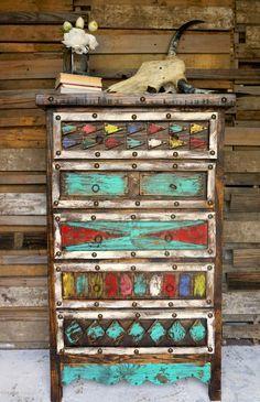 Aztec Dresser - Sofia's Rustic Furniture