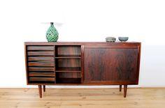 Danish vintage sideboard in rosewood Danish Modern Midcentury modern