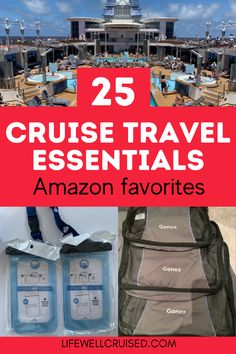 Prepping for a cruise vacation? A cruise is a totally different vacation from a resort or other land trip. There are things that you must have and must bring on your cruise, as they will make your cruise vacation more relaxed and definately better. These cruise accessories and travel essentials are popular Amazon favorites to include in your collection or gift list. #cruise #cruisetips #cruisetravel #cruiseessentials Packing List For Cruise, Cruise Tips, Cruise Travel, Cruise Vacation, Cruise Ship Reviews, Best Cruise Ships, Family Friendly Cruises, Transatlantic Cruise, Carnival Cruise Ships