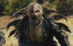 Yazneg was a character in (and created specifically for) Peter Jackson's The Hobbit film series. He was a fierce Orc captain and Warg rider. In the film he is the right hand and second-in-command of Azog the Defiler, leading his Hunter Orcs after Thorin Oakenshield and his band of Dwarves. Yazneg's Early Life is not known, the only thing known about his early life is that he was born in Gundabad or Moria around the time of the War of Dwarves and Orcs. Yazneg was first seen spying on…