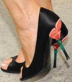 4acd7c56d9f Prada Flower Heels – Joanna Krupa Joanna Krupa