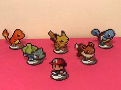 Pokemon Sprites - Red, Pikachu, Charmander, Squirtle, Bulbasaur, Eevee