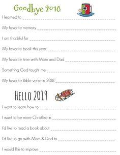 Purposeful Homemaking: FREE New Year's Eve Printable New Years Traditions, Free News, Favorite Bible Verses, New Years Eve, Sunday School, Homemaking, Homeschool, Prayers, Printables