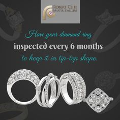 #JewelleryTip: Have your #DiamondRing inspected by a #jeweller for any movement - hate to see you lose the stone! #jewellerytips #jewellerycare #jewelrycare #fashiontips #beautytips #styletips #jewellery #jewelry